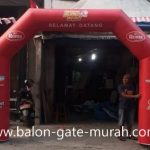 Balon Gate Biskuit Roma